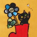 2015 「赤いブーツと黒猫」
