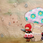 「素敵な雨宿り」(『赤ずきん』/2013個展)